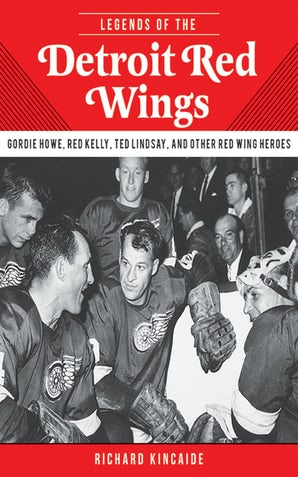 Legends of the Detroit Red Wings book image