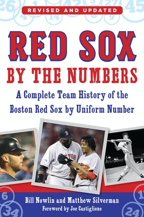 Red Sox by the Numbers book image