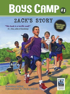 Boys Camp: Zack's Story book image