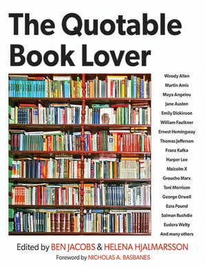 The Quotable Book Lover book image
