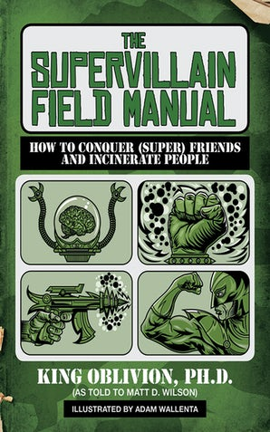 The Supervillain Field Manual book image
