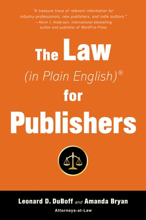 The Law (in Plain English) for Publishers book image