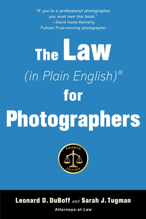 The Law (in Plain English) for Photographers book image