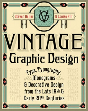 Vintage Graphic Design book image
