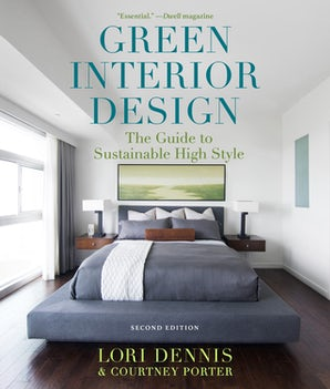 Green Interior Design book image