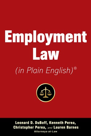 Employment Law (in Plain English) book image