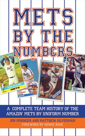 Mets by the Numbers book image