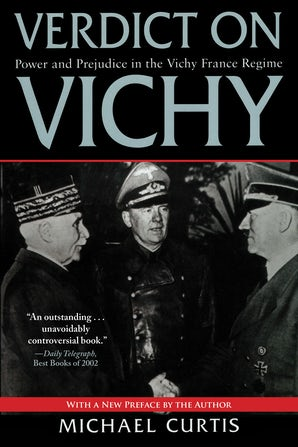 Verdict on Vichy book image