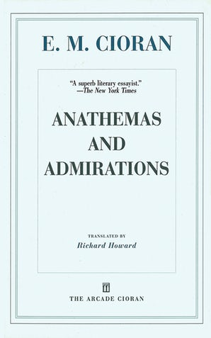 Anathemas and Admirations book image