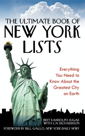 The Ultimate Book of New York Lists book image