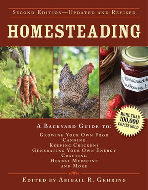 Homesteading book image