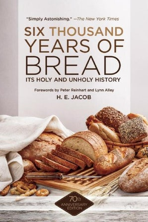 Six Thousand Years of Bread book image