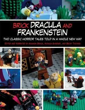 Brick Dracula and Frankenstein book image