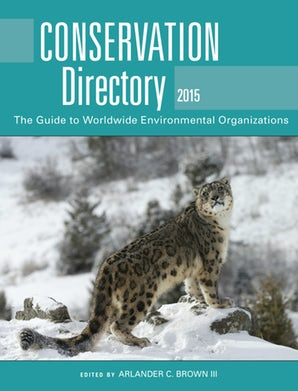 Conservation Directory 2015 book image