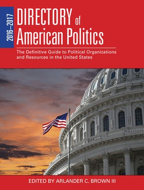 2016-2017 Directory of American Politics book image