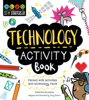 STEM Starters for Kids Technology Activity Book book image