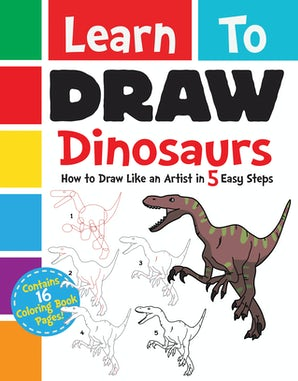 Learn to Draw Dinosaurs book image