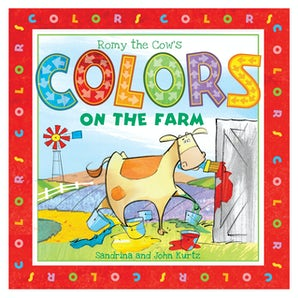 Romy the Cow's Colors on the Farm book image