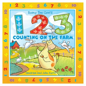 Romy the Cow's 123 Counting on the Farm book image