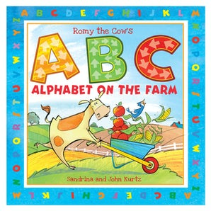 Romy the Cow's ABC Alphabet on the Farm book image