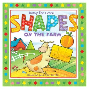 Romy the Cow's Shapes on the Farm book image