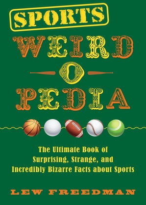 Sports Weird-o-Pedia book image