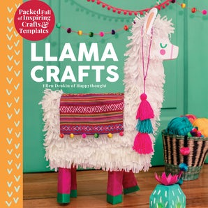 Llama Crafts book image