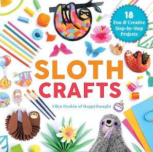 Sloth Crafts book image