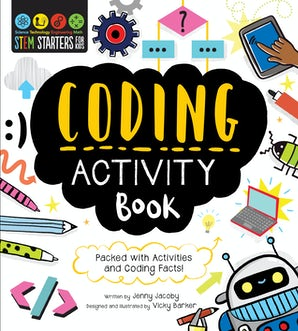 STEM Starters for Kids Coding Activity Book
