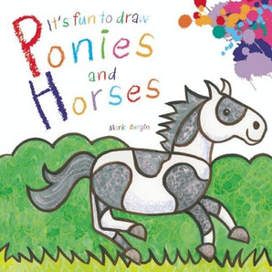 It's Fun to Draw Ponies and Horses book image