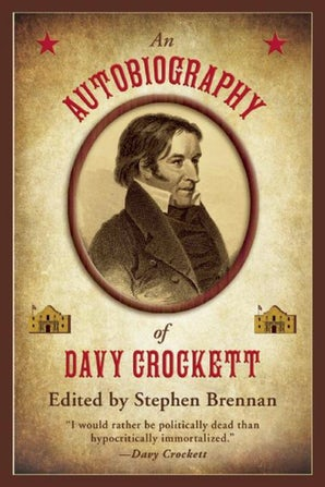 An Autobiography of Davy Crockett book image