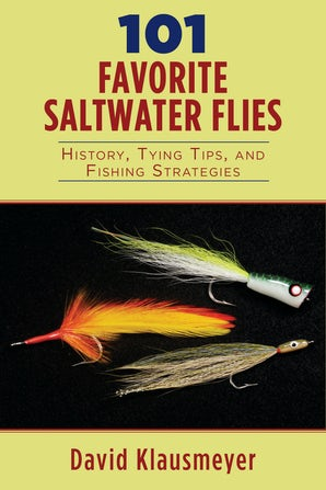 101 Favorite Saltwater Flies book image