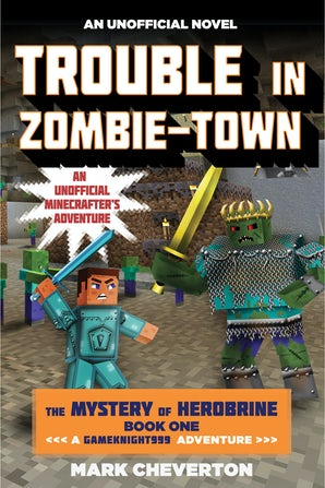 Trouble in Zombie-town book image