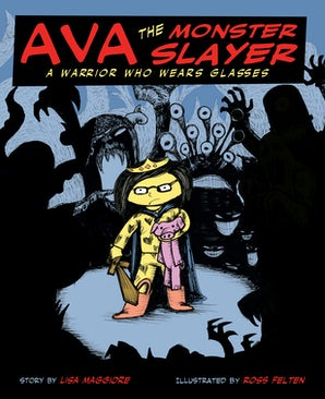 Ava the Monster Slayer book image