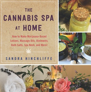 The Cannabis Spa at Home book image