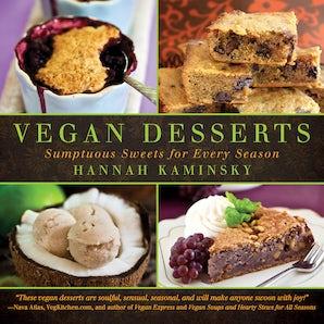 Vegan Desserts book image