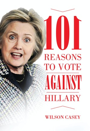 101 Reasons to Vote against Hillary book image
