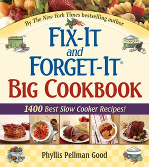 Fix-It and Forget-It Big Cookbook book image