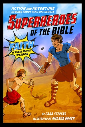 Superheroes of the Bible book image