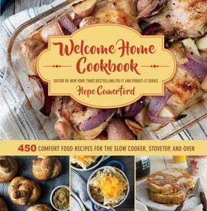 Welcome Home Cookbook book image