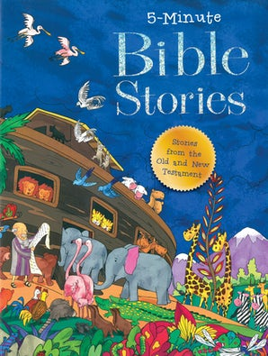 5 Minute Bible Stories book image
