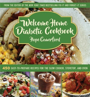 Welcome Home Diabetic Cookbook book image