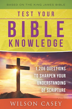 Test Your Bible Knowledge book image