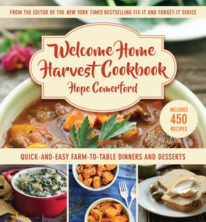Welcome Home Harvest Cookbook book image