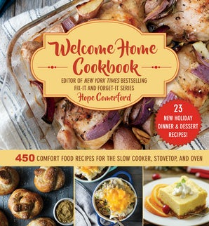 Welcome Home Cookbook: Holiday Edition book image