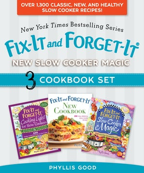 Fix-It and Forget-It New Slow Cooker Magic Box Set book image