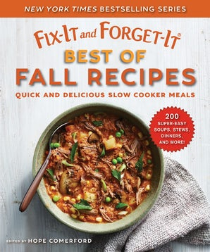 Fix-It and Forget-It Best of Fall Recipes book image