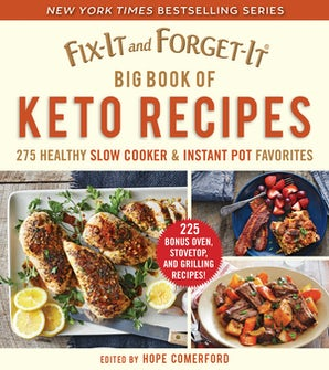 Fix-It and Forget-It Big Book of Keto Recipes book image