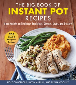 The Big Book of Instant Pot Recipes book image