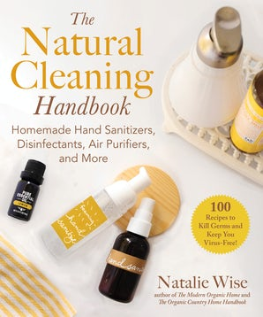 The Natural Cleaning Handbook book image